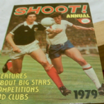 Football Shoot soccer  annual 1979 good unclipped price example spine intact @SOLD@